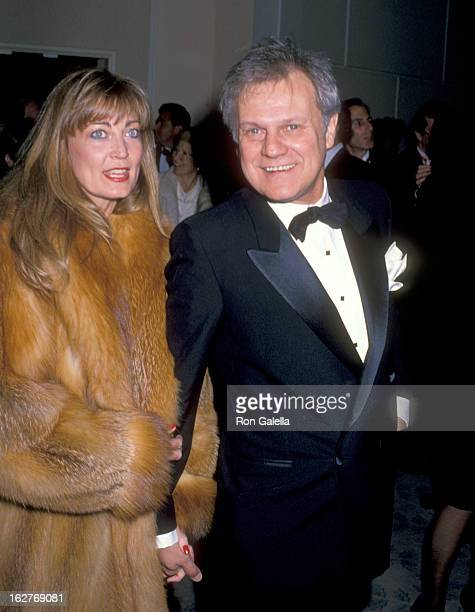 Actor Ken Kercheval and wife Ava Fox attend the Sixth Annual American Cinema Awards on January 6 1989 at Beverly Hilton Hotel in Beverly Hills...