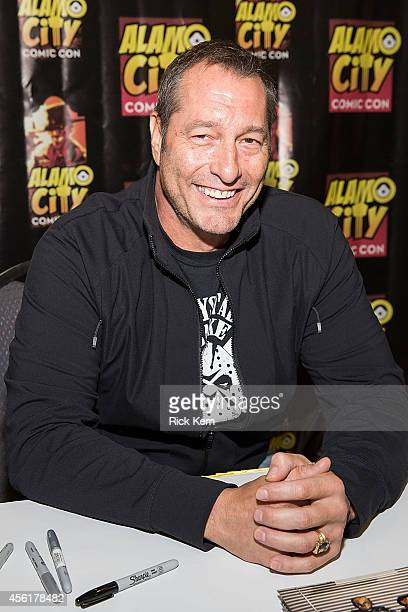 Actor Ken Kirzinger attends day one of the Alamo City Comic Con at the Henry B Gonzalez Convention Center on September 26 2014 in San Antonio Texas