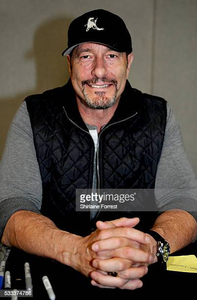 Actor Ken Kirzinger attends Film Comic Con Manchester at Event City on May 21 2016 in Manchester England