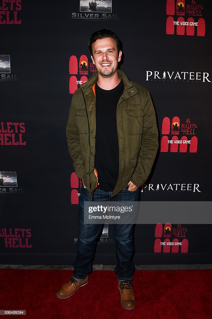 Actor Ken Luckey attends the launch of '6 Bullets to Hell' on May 10, 2016 in Los Angeles, California.