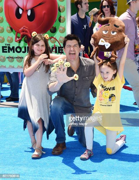 Actor Ken Marino arrives at the Premiere Of Columbia Pictures And Sony Pictures Animation's 'The Emoji Movie' at Regency Village Theatre on July 23...