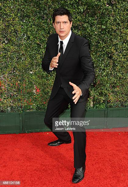 Actor Ken Marino attends the 2015 Creative Arts Emmy Awards at Microsoft Theater on September 12 2015 in Los Angeles California