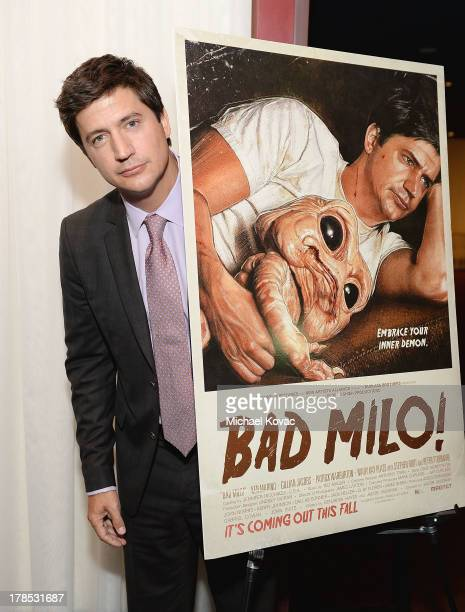 Actor Ken Marino attends the Los Angeles Premiere of Bad Milo at ArcLight Cinemas on August 29 2013 in Hollywood California