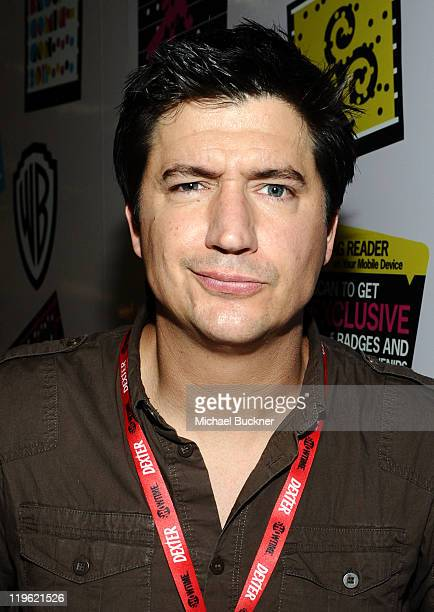 Actor Ken Marino speaks at Adult Swim's Children's Hospital Panel at the San Diego Convetion Center on July 22 2011 in San Diego California