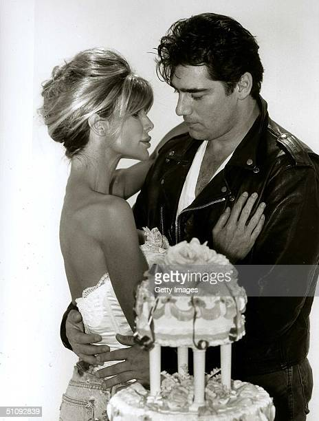 Actor Ken Wahl And Model Shane Barbi Get Married September 25 1997 In Los Angeles Ca Shane And Her Sister Sia Have Written A Book Dying To Be Healthy...