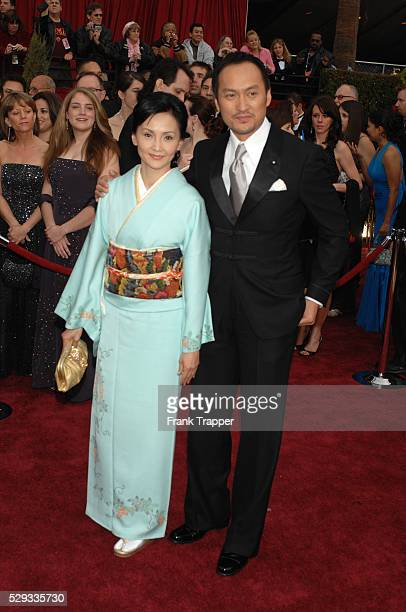 Actor Ken Watanabe and Kaho Minami arrive at the 79th Annual Academy Awards�� held at the Kodak Theatre