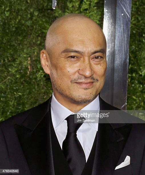 Actor Ken Watanabe attends American Theatre Wing's 69th Annual Tony Awards at Radio City Music Hall on June 7 2015 in New York City