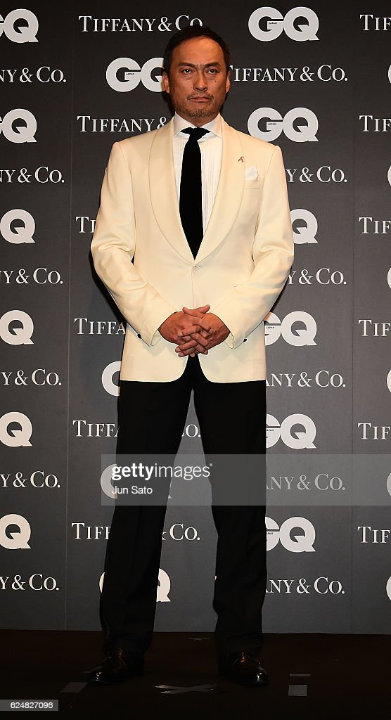 Actor Ken Watanabe attends the GQ Men Of The Year 2016 at the Tokyo American Club on November 21, 2016 in Tokyo, Japan.
