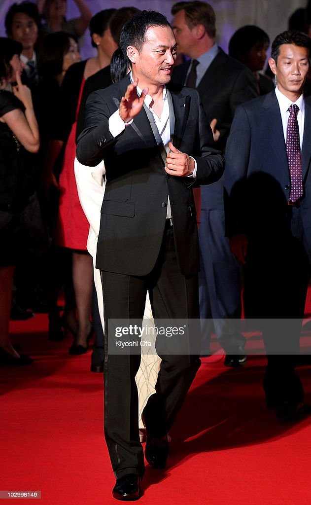Actor Ken Watanabe attends the 'Inception' Japan Premiere at Roppongi Hills on July 20, 2010 in Tokyo, Japan. The film will open in Japan on July 23.