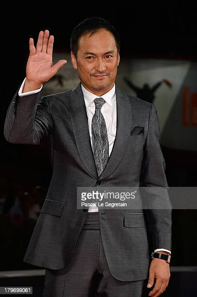 """Actor Ken Watanabe attends """"Unforgiven"""" Premiere during the 70th Venice International Film Festival at Palazzo del Cinema on September 6, 2013 in..."""