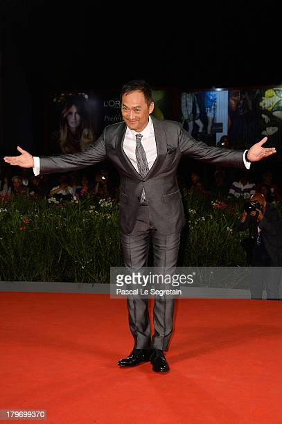 Actor Ken Watanabe attends 'Unforgiven' Premiere during the 70th Venice International Film Festival at Palazzo del Cinema on September 6 2013 in...