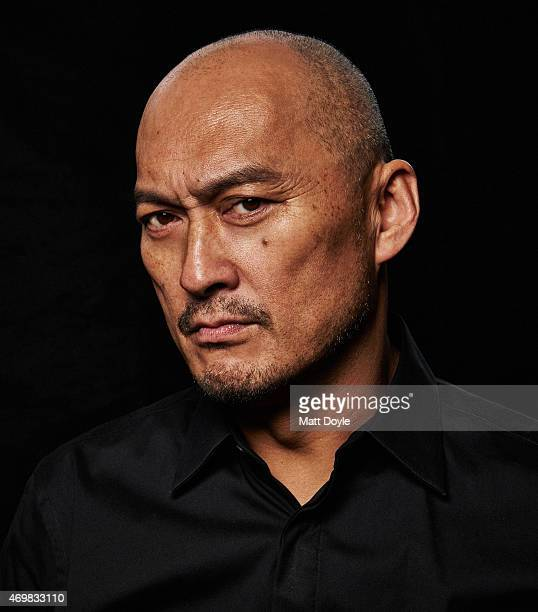Actor Ken Watanabe is photographed for Back Stage on February 23 in New York City PUBLISHED COVER