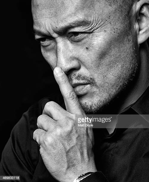Actor Ken Watanabe is photographed for Back Stage on February 23 in New York City PUBLISHED IMAGE