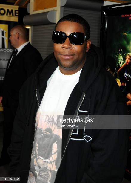 Actor Kenan Thompson arrives at the premiere of 'Stan Helsing' Bo Zenga's hilarious horror film parody held at ArcLight Hollywood on October 20 2009...