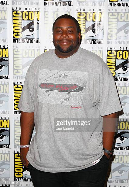Actor Kenan Thompson attends The Awesomes ComicCon panel at Hilton Bayfront on July 20 2013 in San Diego California