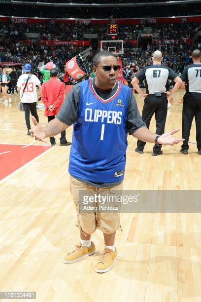 Actor Kenan Thompson is seen after the game between LA Clippers and Brooklyn Nets on March 17 2019 at STAPLES Center in Los Angeles California NOTE...