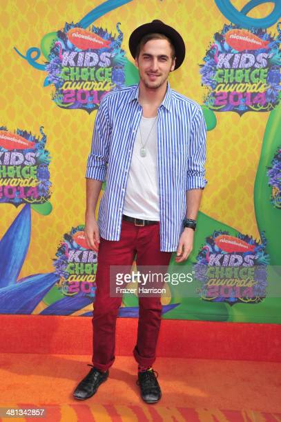 Actor Kendall Schmidt attends Nickelodeon's 27th Annual Kids' Choice Awards held at USC Galen Center on March 29 2014 in Los Angeles California