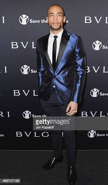 Actor Kendrick Sampson arrives at BVLGARI And Save The Children STOP THINK GIVE PreOscar Event at Spago on February 17 2015 in Beverly Hills...