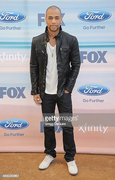 Actor Kendrick Sampson arrives at the 2014 FOX Fall EcoCasino Party at The Bungalow on September 8 2014 in Santa Monica California