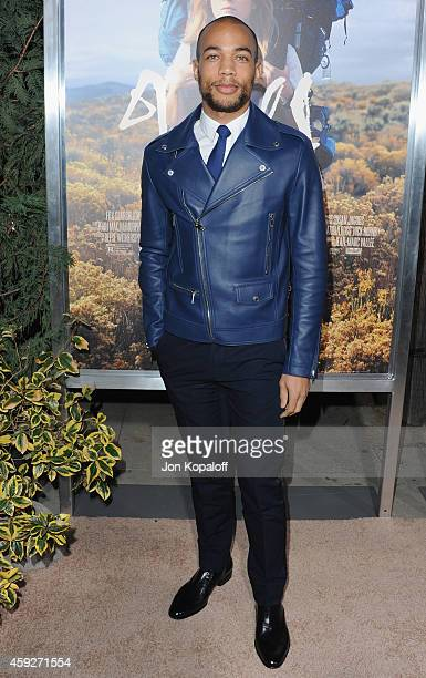 Actor Kendrick Sampson arrives at the Los Angeles Premiere Wild at AMPAS Samuel Goldwyn Theater on November 19 2014 in Beverly Hills California