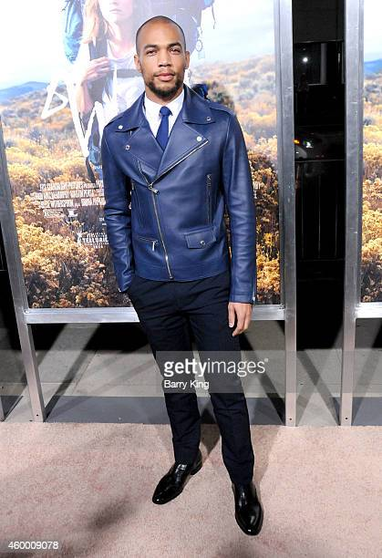 Actor Kendrick Sampson arrives at the Los Angeles Premiere 'Wild' at AMPAS Goldwyn Theater on November 19 2014 in Beverly Hills California