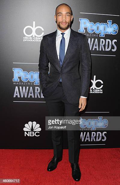 Actor Kendrick Sampson arrives at The PEOPLE Magazine Awards at The Beverly Hilton Hotel on December 18 2014 in Beverly Hills California