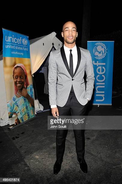 Actor Kendrick Sampson at the UNICEF Next Generation Third Annual UNICEF Black White Masquerade Ball benefiting UNICEF's lifesaving programs...