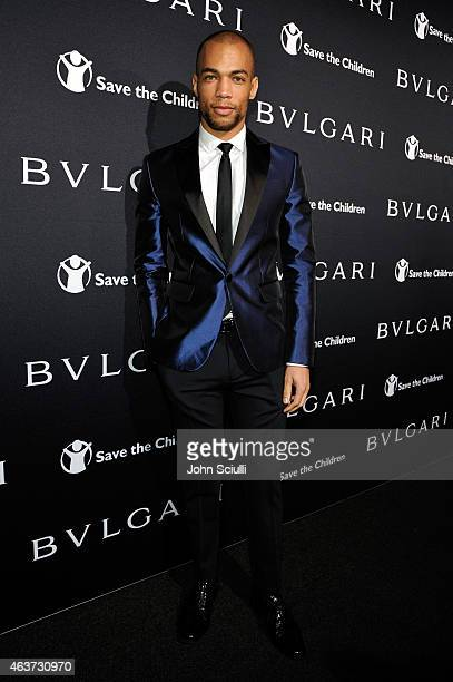 Actor Kendrick Sampson attends BVLGARI and Save The Children STOP THINK GIVE PreOscar Event at Spago on February 17 2015 in Beverly Hills California