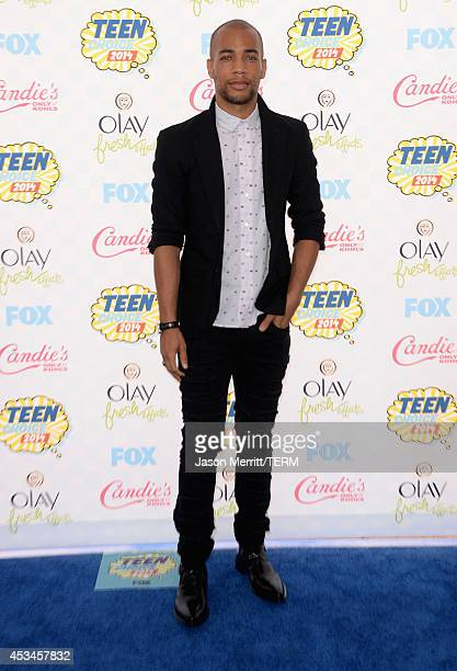 Actor Kendrick Sampson attends FOX's 2014 Teen Choice Awards at The Shrine Auditorium on August 10 2014 in Los Angeles California