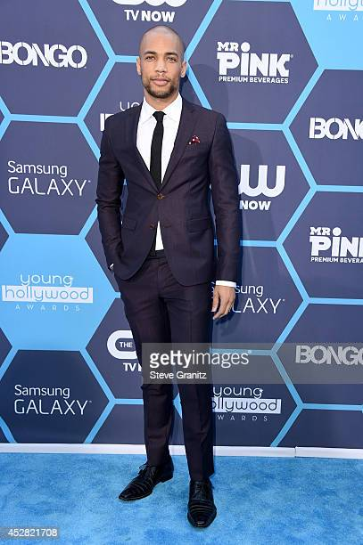 Actor Kendrick Sampson attends the 2014 Young Hollywood Awards held at The Wiltern on July 27 2014 in Los Angeles California