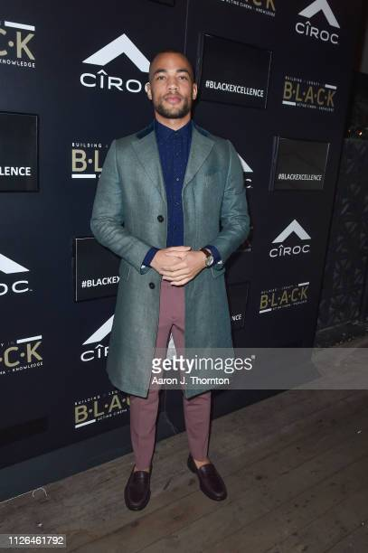 Actor Kendrick Sampson attends The BLACK Ball at Petite Taqueria on February 20 2019 in Los Angeles California