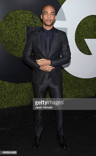 Actor Kendrick Sampson attends the GQ 20th Anniversary Men Of The Year Party at Chateau Marmont on December 3 2015 in Los Angeles California