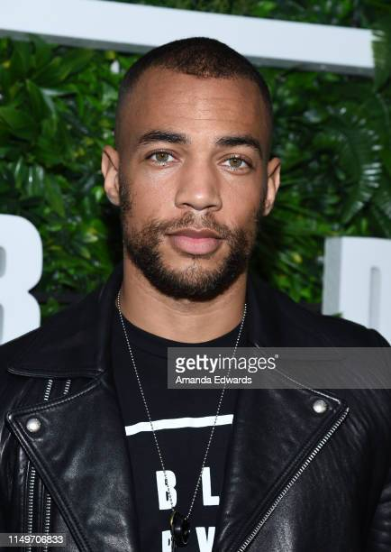 Actor Kendrick Sampson attends the launch of Kendrick Sampson's BLD PWR initiative at Madera Kitchen on May 16 2019 in Hollywood California