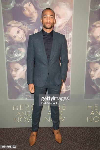 Actor Kendrick Sampson attends the Premiere Of HBO's Here And Now at Directors Guild Of America on February 5 2018 in Los Angeles California