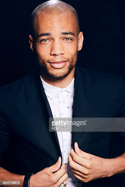 Actor Kendrick Sampson is photographed at the Fox 2014 Teen Choice Awards at The Shrine Auditorium on August 10 2014 in Los Angeles California