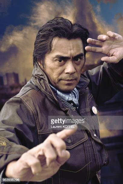 Actor Kenji Ohba pictured on November 1 in Paris in France CLEARANCE REQUIRED BEFORE ANY USAGE CONSULT GAMMA