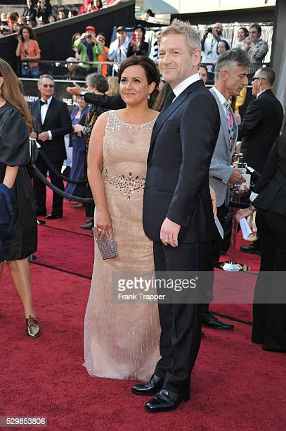 Actor Kenneth Branagh and wife Lindsay Brunnock arrive at the 84th Academy Awards��, held at the Hollywood & Highland Center�� in Hollywood.