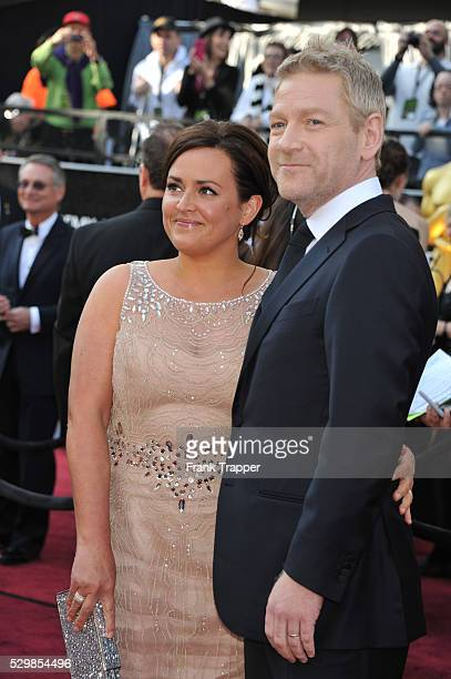 Actor Kenneth Branagh and wife Lindsay Brunnock arrive at the 84th Academy Awards�� held at the Hollywood Highland Center�� in Hollywood