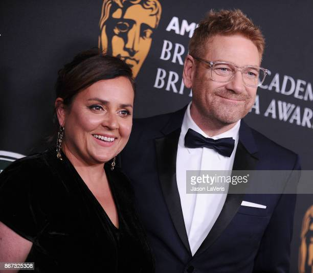 Actor Kenneth Branagh and wife Lindsay Brunnock attend the 2017 AMD British Academy Britannia Awards at The Beverly Hilton Hotel on October 27, 2017...