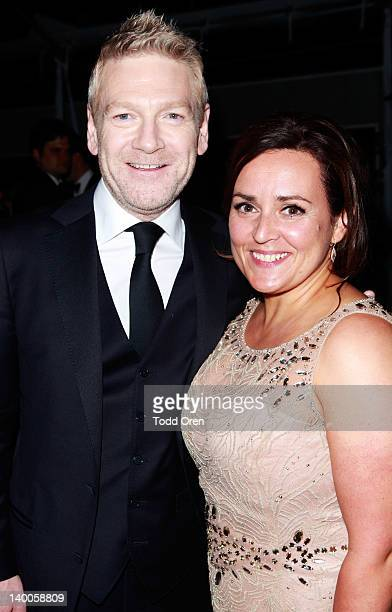 Actor Kenneth Branagh and wife Lindsay Brunnock attends Dewar's at TWC Oscar after party in partnership with Manuele Malenotti Audi HP at SkyBar at...