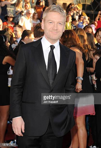 Actor Kenneth Branagh arrives at the 18th Annual Screen Actors Guild Awards held at The Shrine Auditorium on January 29, 2012 in Los Angeles,...