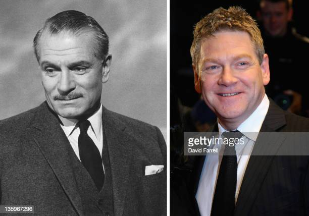 In this composite image a comparison has been made between Sir Laurence Olivier and Actor Kenneth Branagh Oscar hype begins this week with the...