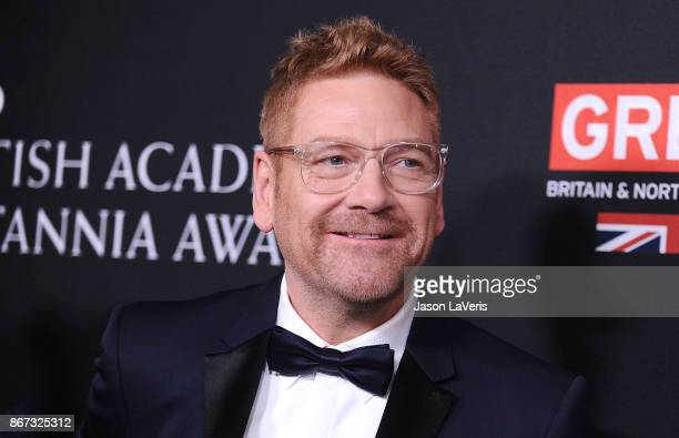 Actor Kenneth Branagh attends the 2017 AMD British Academy Britannia Awards at The Beverly Hilton Hotel on October 27, 2017 in Beverly Hills,...