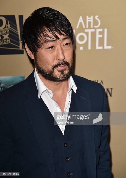 Actor Kenneth Choi attends the premiere screening of FX's American Horror Story Hotel at Regal Cinemas LA Live on October 3 2015 in Los Angeles...