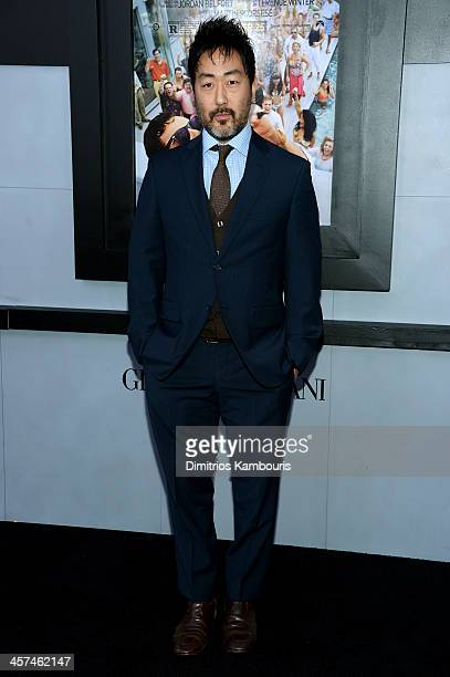 Actor Kenneth Choi attends the The Wolf Of Wall Street premiere at the Ziegfeld Theatre on December 17 2013 in New York City