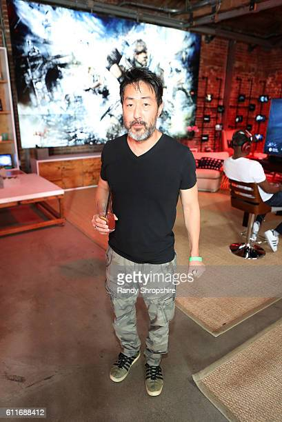 Actor Kenneth Choi attends the Xbox Gears Of War 4 Los Angeles launch event at The Microsoft Lounge on September 30 2016 in Venice California