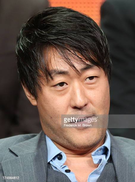 Actor Kenneth Choi speaks onstage during the Ironside panel discussion at the NBC portion of the 2013 Summer Television Critics Association tour Day...