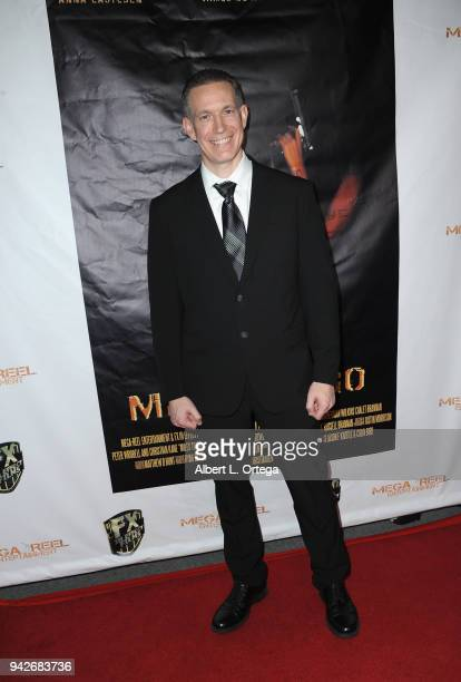 Actor Kenney Myers arrives for the Los Angeles Premiere of 'Miles To Go' held at Writers Guild Theater on April 5 2018 in Beverly Hills California