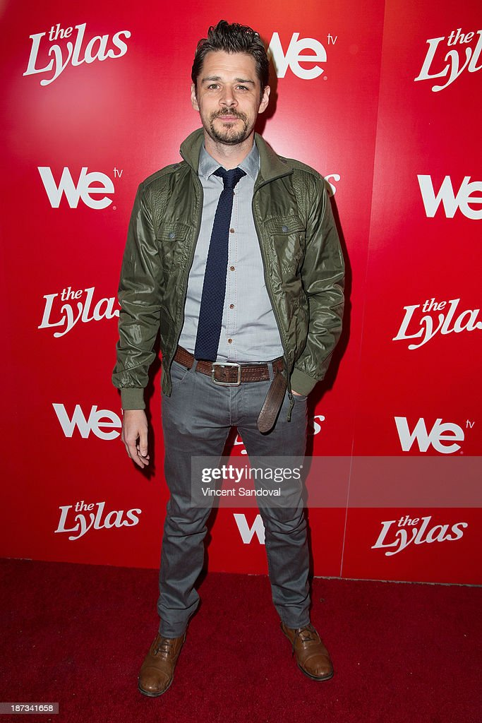 Actor Kenny Doughty attends WE tv's premiere party for 'The LYLAS' at Warwick on November 7, 2013 in Hollywood, California.