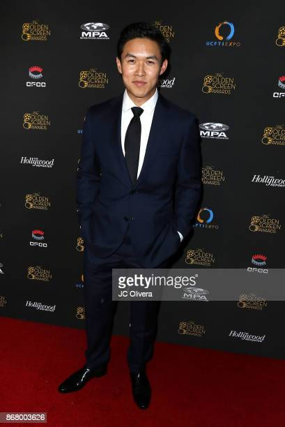 Actor Kenny Leu attends the 2nd Annual Golden Screen Awards hosted by US China Film and TV Industry Expo at The Novo by Microsoft on October 29 2017...